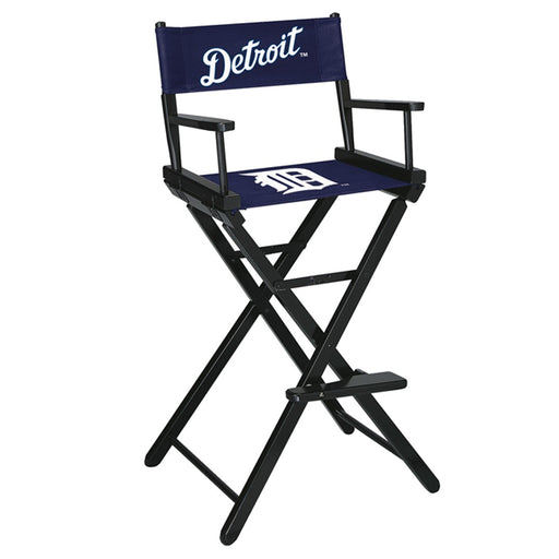 Detroit Tigers Bar Height Directors Chair | Man Cave Authority | IMP 200-2015