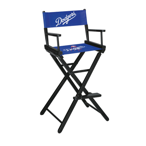Los Angeles Dodgers Bar Height Directors Chair | Man Cave Authority | IMP 200-2026