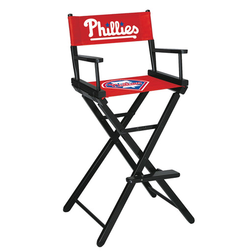Philadelphia Phillies Bar Height Directors Chair | Man Cave Authority | IMP 200-2029