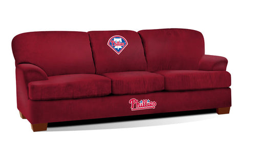 Philadelphia Phillies First Teamm Microfiber Sofa | Man Cave Authority | IMP 205-2029