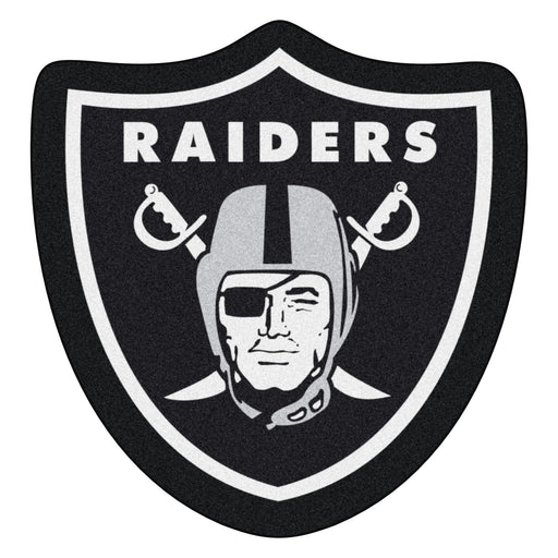 Oakland Raiders Mascot Mat | Man Cave Authority | 20982