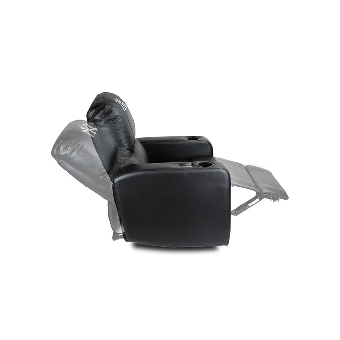 New York Yankees Power Theater Recliner with USB Port | Man Cave Authority | 217-2001