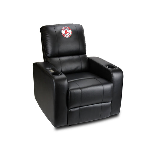Boston Red Sox Power Theater Recliner with USB Port | Man Cave Authority | 217-2003