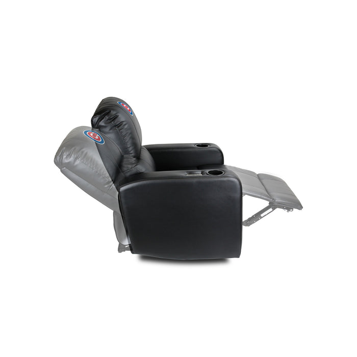 Chicago Cubs Power Theater Recliner with USB Port | Man Cave Authority | 217-2005
