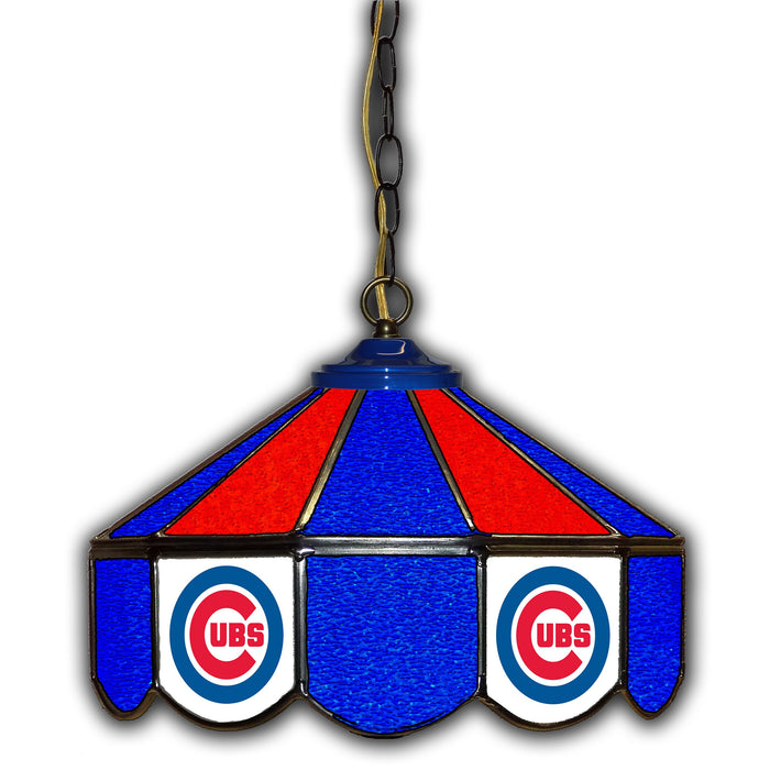 Chicago Cubs   Stained Glass Pub Lamp | Man Cave Authority | IMP 233-2005