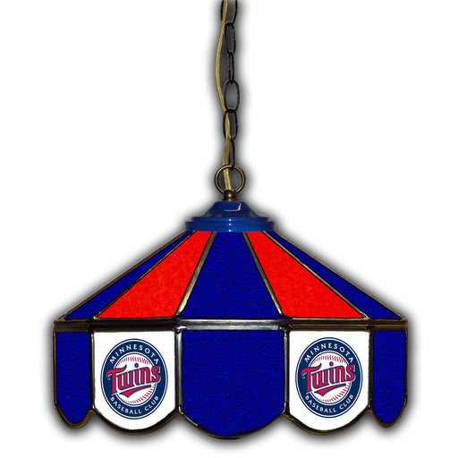 Minnesota Twins Stained Glass Pub Lamp | Man Cave Authority | IMP 233-2017