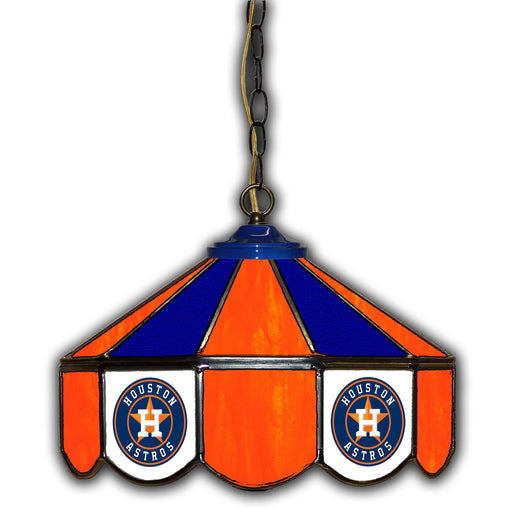 Houston Astros Stained Glass Pub Lamp | Man Cave Authority | IMP 233-2025