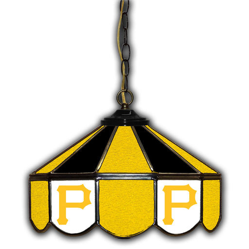 Pittsburgh Pirates Stained Glass Pub Lamp | Man Cave Authority | IMP 233-2030