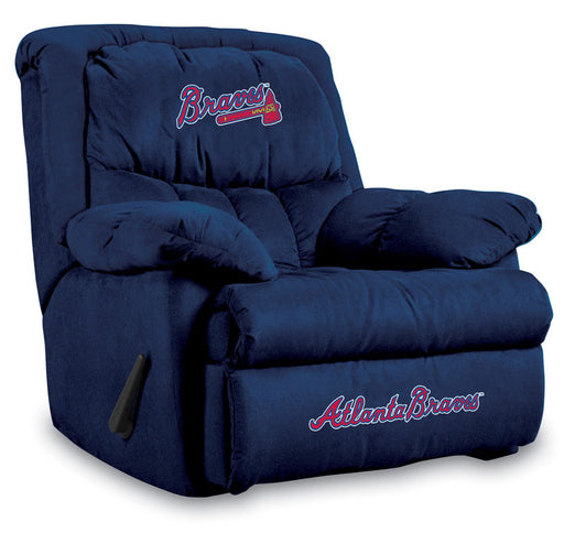 Atlanta Braves Microfiber Home Team Recliner | Man Cave Authority | IMP  241-2010