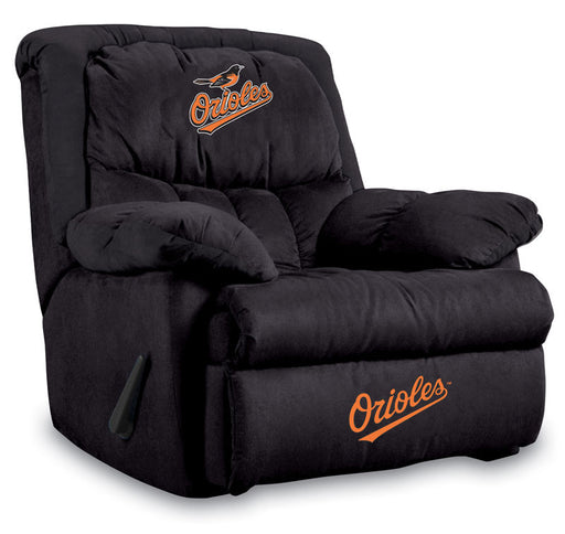 Baltimore Orioles Microfiber Home Team Recliner | Man Cave Authority | IMP  241-2014