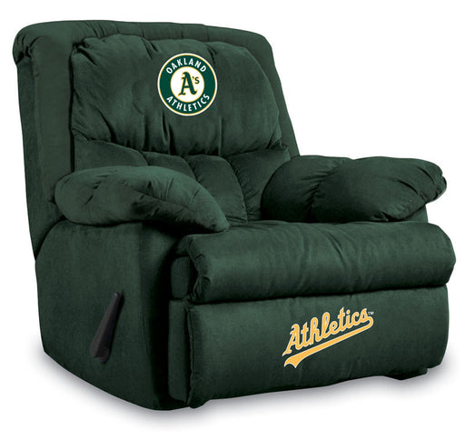Oakland Athletics Microfiber Home Team Recliner | Man Cave Authority | IMP  241-2018