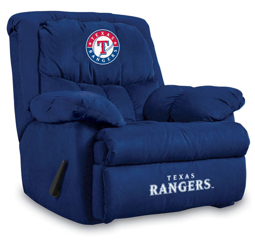 Texas Rangers Microfiber Home Team Recliner | Man Cave Authority | IMP  241-2020