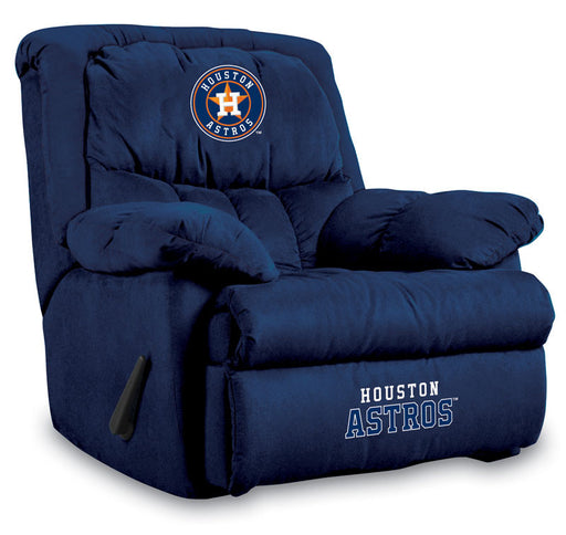 Houston Astros Microfiber Home Team Recliner | Man Cave Authority | IMP  241-2025