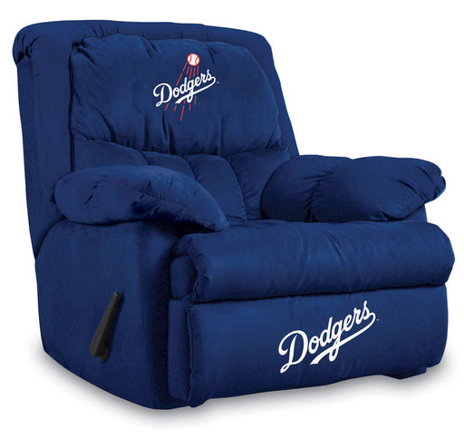 Los Angeles Dodgers Microfiber Home Team Recliner | Man Cave Authority | IMP  241-2026