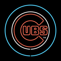 Chicago Cubs Neon Sign | Man Cave Authority | IMP 250-2005