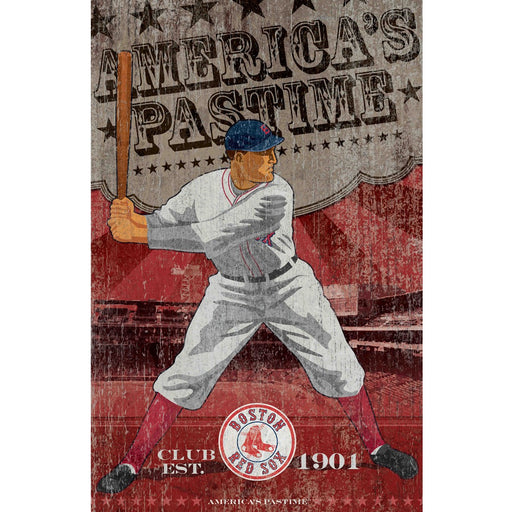 Boston Red Sox Wall Art | Man Cave Authority | IMP 251-2003