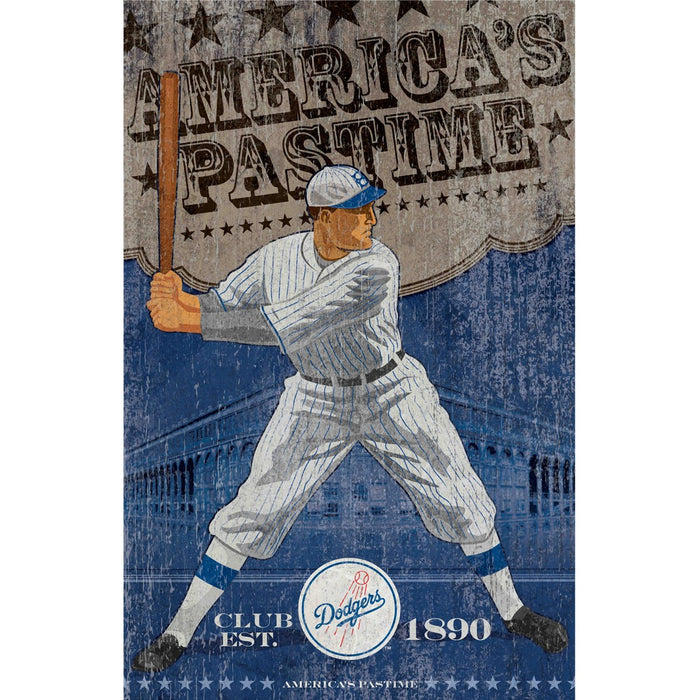 Los Angeles Dodgers Wall Art | Man Cave Authority | IMP 251-2026