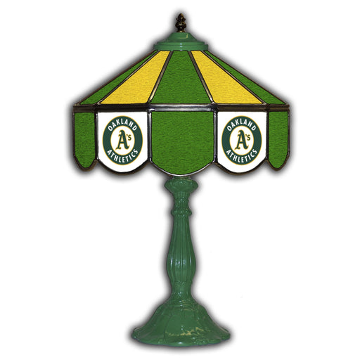 Oakland Athletics Table Lamp | Man Cave Authority | IMP 259-2018