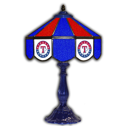 Texas Rangers Table Lamp | Man Cave Authority | IMP 259-2020