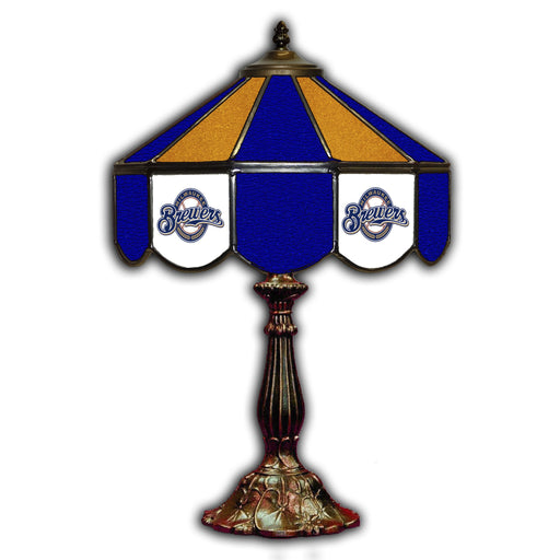 Milwaukee Brewers Table Lamp | Man Cave Authority | IMP 259-2027