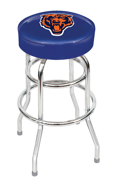 Chicago Bears Chrome Bar Stool | Man Cave Authority | IMP 26-1019