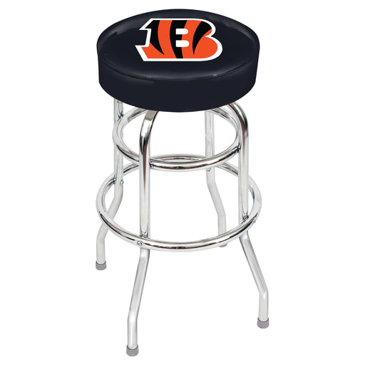 Cincinnati Bengals Chrome Bar Stool | Man Cave Authority | IMP 26-1023