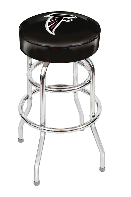 Atlanta Falcons Chrome Bar Stool | Man Cave Authority | IMP 26-1030