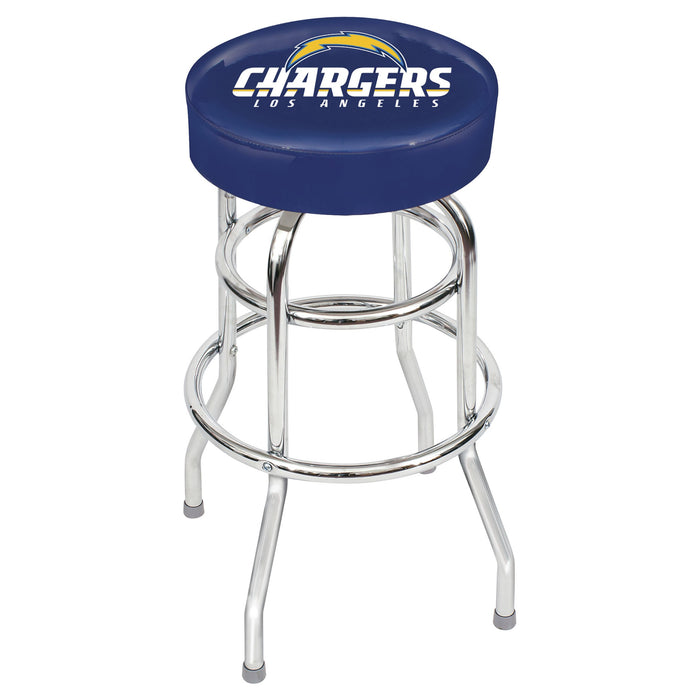 Los Angeles Chargers Chrome Bar Stool | Man Cave Authority | IMP 26-1036