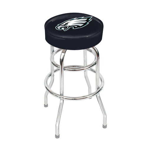 Philadelphia Eagles Chrome Bar Stool | Man Cave Authority | IMP 26-1037