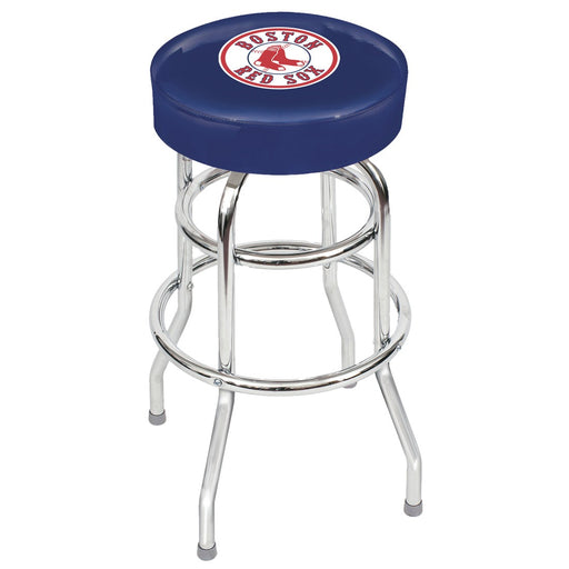 Boston Red Sox Chrome Bar Stool | Man Cave Authority | IMP 26-3003