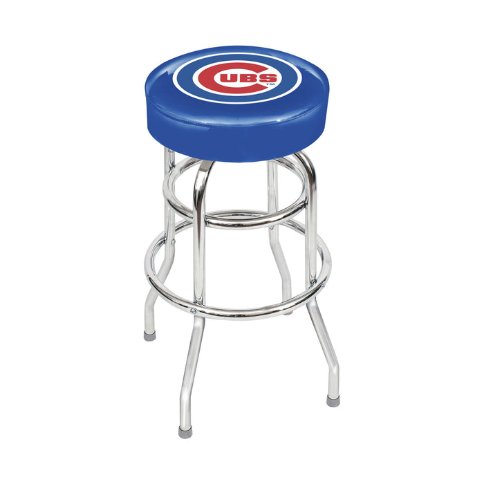 Chicago Cubs Chrome Bar Stool | Man Cave Authority | IMP 26-3005