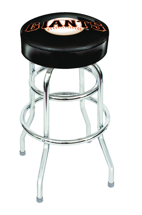 San Francisco Giants Chrome Bar Stool | Man Cave Authority | IMP 26-3012