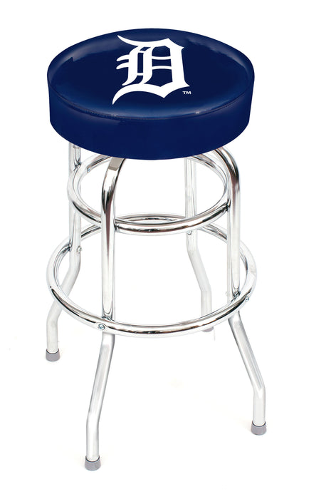 Detroit Tigers Chrome Bar Stool | Man Cave Authority | IMP 26-3015