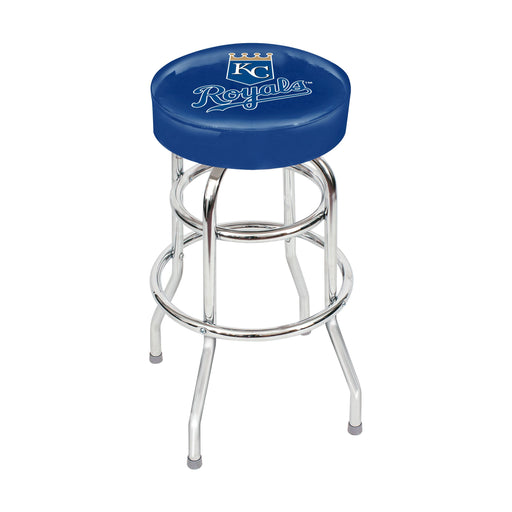 Kansas City Royals Chrome Bar Stool | Man Cave Authority | IMP 26-3016