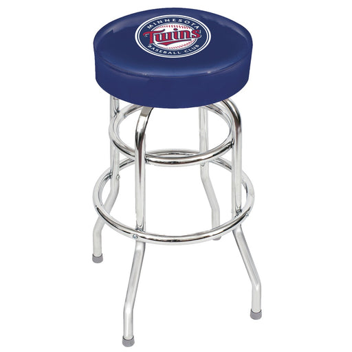Minnesota Twins Chrome Bar Stool | Man Cave Authority | IMP 26-3017