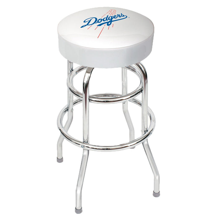 Los Angeles Dodgers Chrome Bar Stool | Man Cave Authority | IMP 26-3026