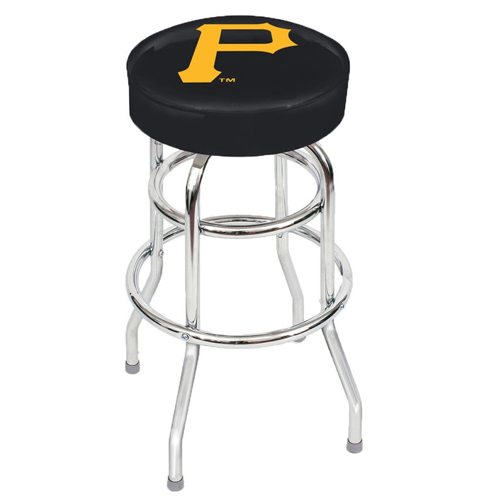 Pittsburgh Pirates Chrome Bar Stool | Man Cave Authority | IMP 26-3030
