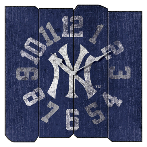 New York Yankees Vintage Square Clock | Man Cave Authority | IMP 271-2001