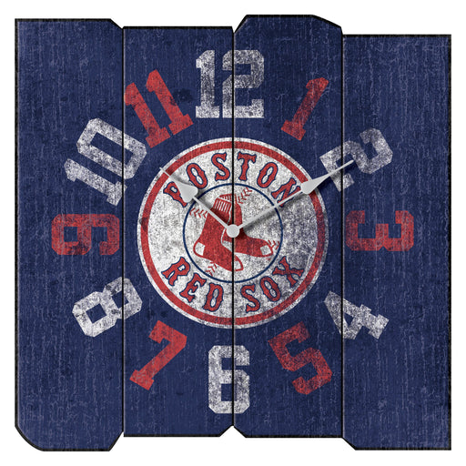 Boston Red Sox Vintage Square Clock | Man Cave Authority | IMP 271-2003