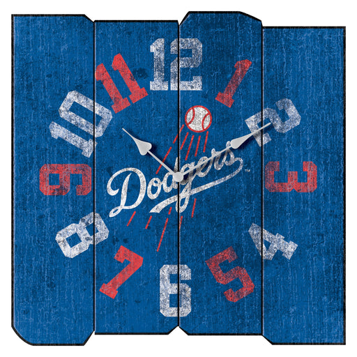 Los Angeles Dodgers Vintage Square Clock | Man Cave Authority | IMP 271-2026