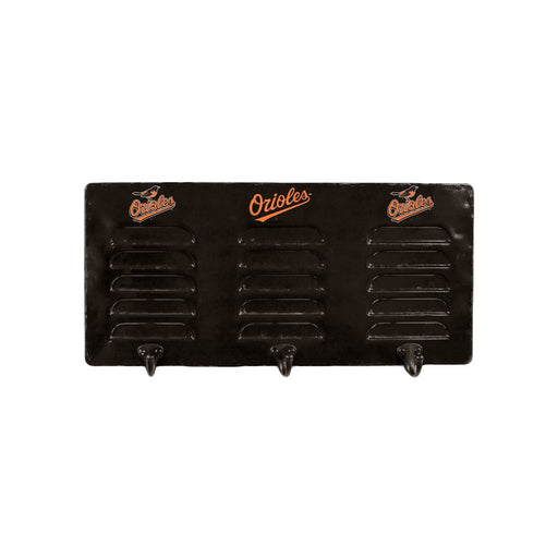 Baltimore Orioles 3 Hook Metal Coat Rack | Man Cave Authority | IMP 273-2014