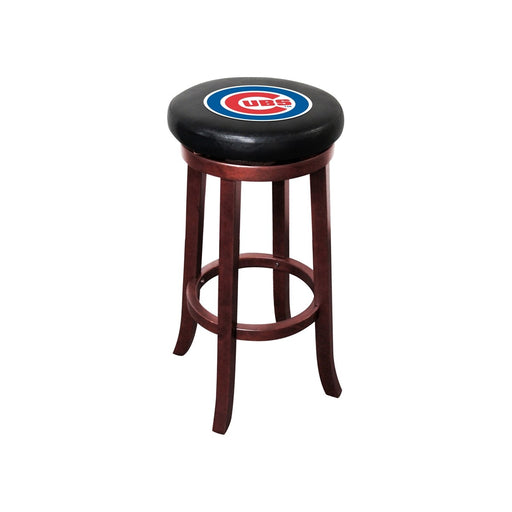 Chicago Cubs Sox Wood Bar Stool | Man Cave Authority | IMP 277-2005