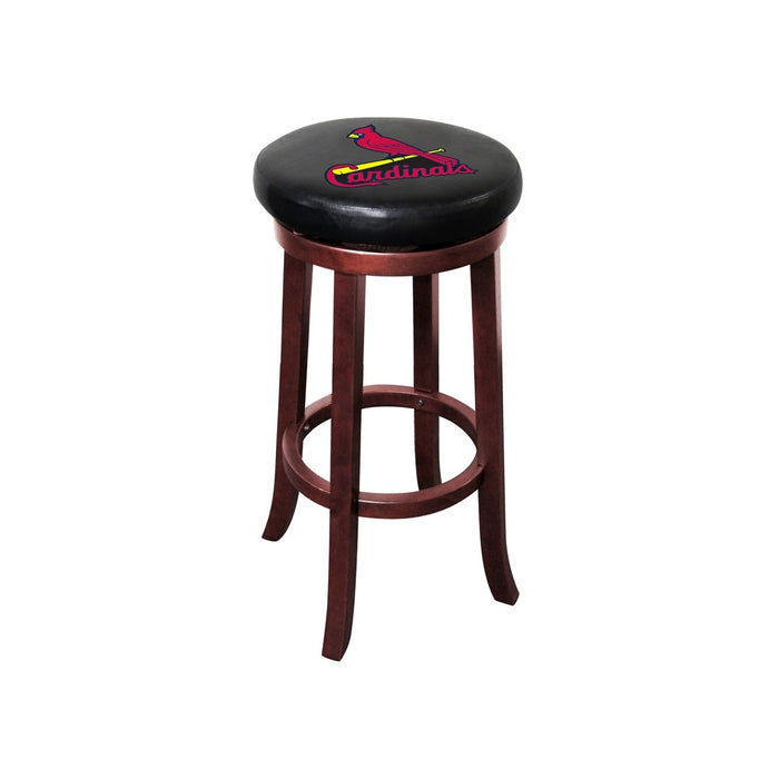 St Louis Cardinals Wood Bar Stool | Man Cave Authority | IMP 277-2008