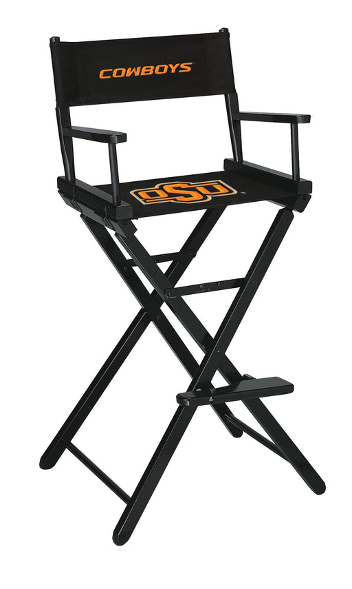 Oklahoma State University Bar Height Directors Chair | Man Cave Authority | IMP 300-6006