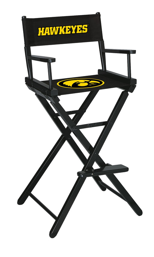 University of Iowa Bar Height Directors Chair | Man Cave Authority | IMP 300-6018