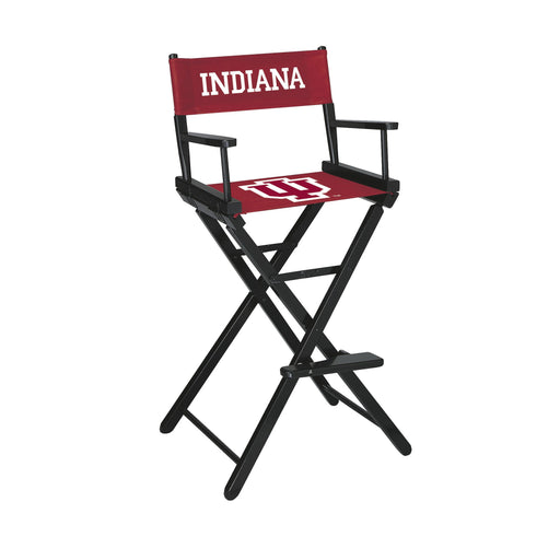 Indiana University Bar Height Directors Chair | Man Cave Authority | IMP 300-6029
