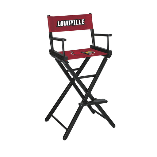University of Louisville Bar Height Directors Chair | Man Cave Authority | IMP 300-6031