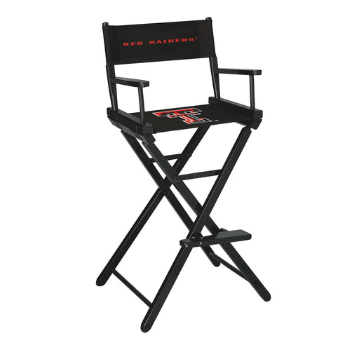 Texas Tech University Bar Height Directors Chair | Man Cave Authority | IMP 300-6034