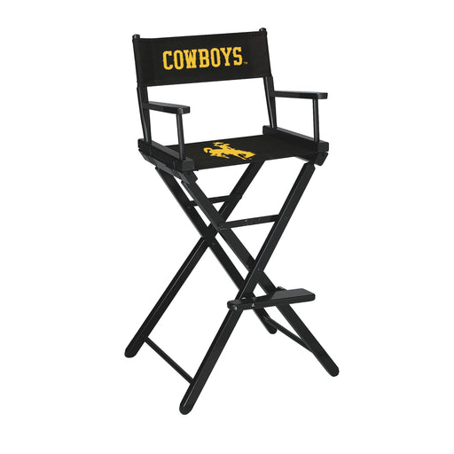 University of Wyoming Bar Height Directors Chair | Man Cave Authority | IMP 300-6039
