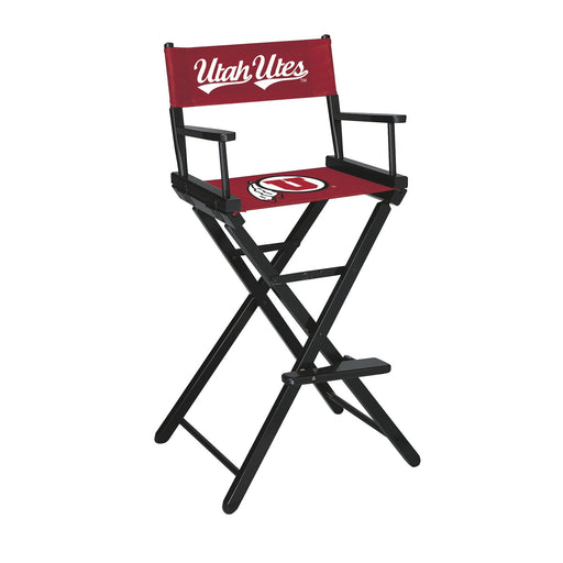 University of Utah Bar Height Directors Chair | Man Cave Authority | IMP 300-6041